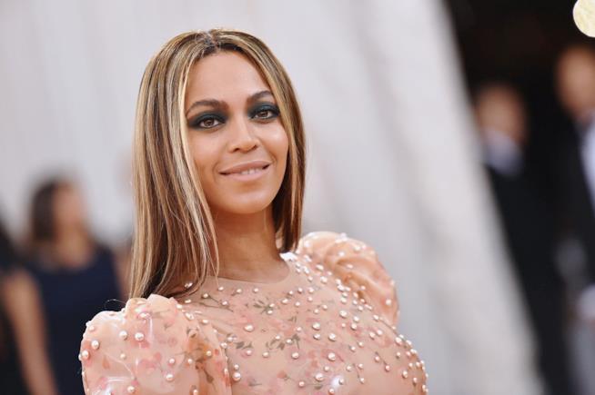 Una sorridente Beyoncé.