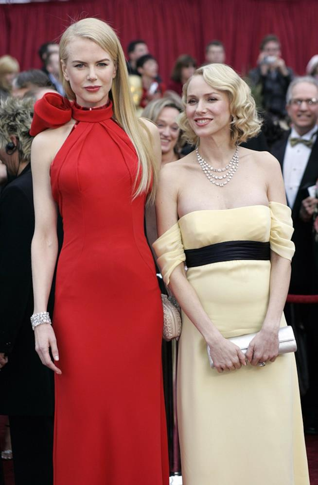 Nicole Kidman e l'amica Naomi Watts