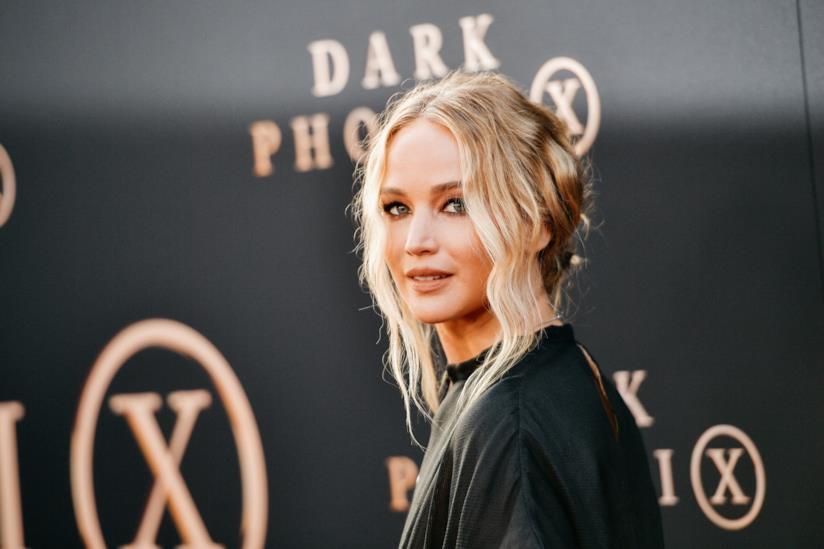L'attrice Jennifer Lawrence