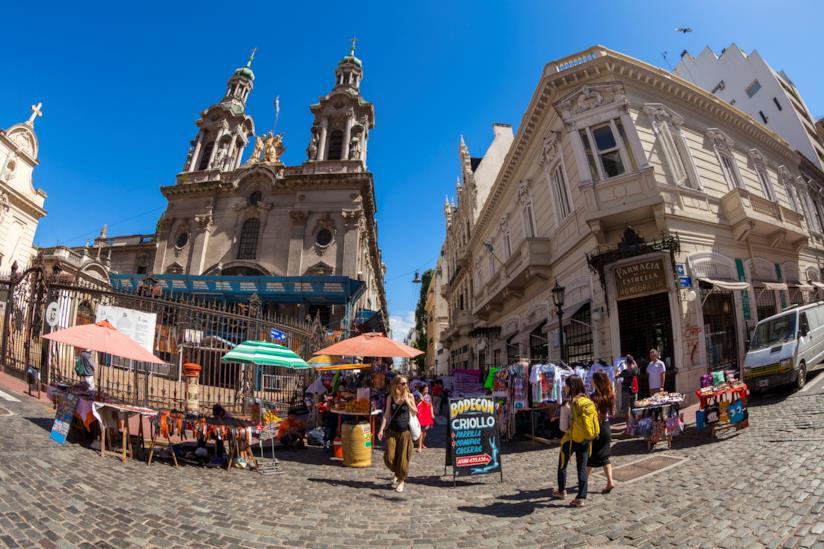 Il barrio di San Telmo