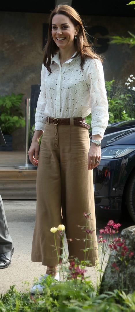 Kate Middleton all'evento sui giardini
