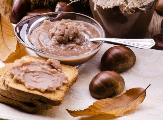 Crema castagne e cioccolato fondente