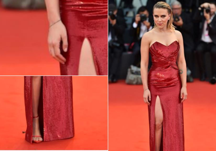 Scarlett Johansson sul red carpet