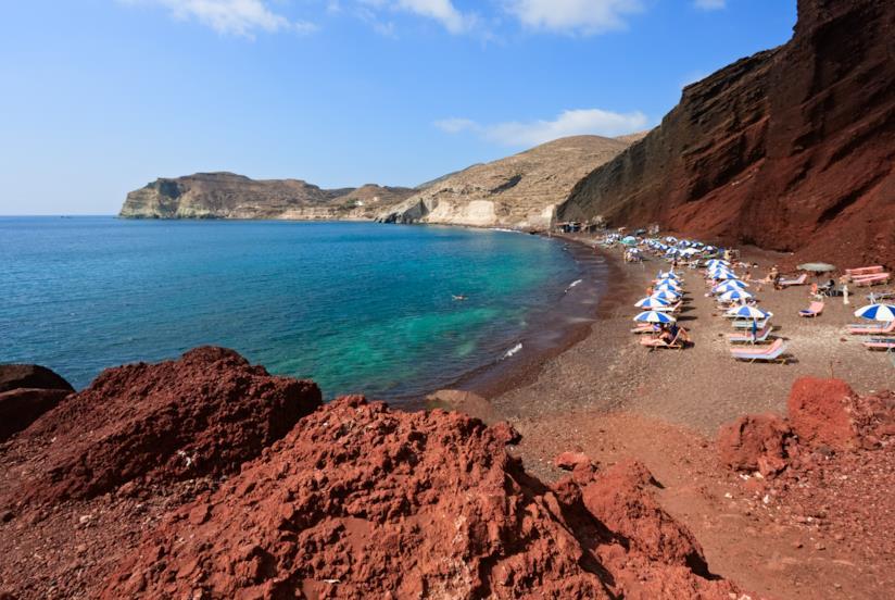 Santorini Spiaggia Rossa