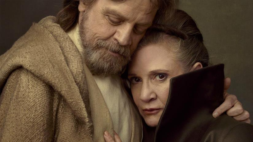 Mark Hamill e Carrie Fisher
