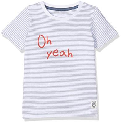 T-Shirt a righe Oh Yeah
