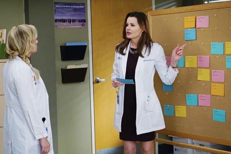 Geena Davis in Grey's Anatomy