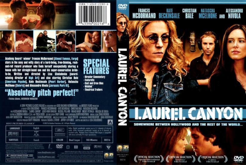 Laurel Canyon il DVD