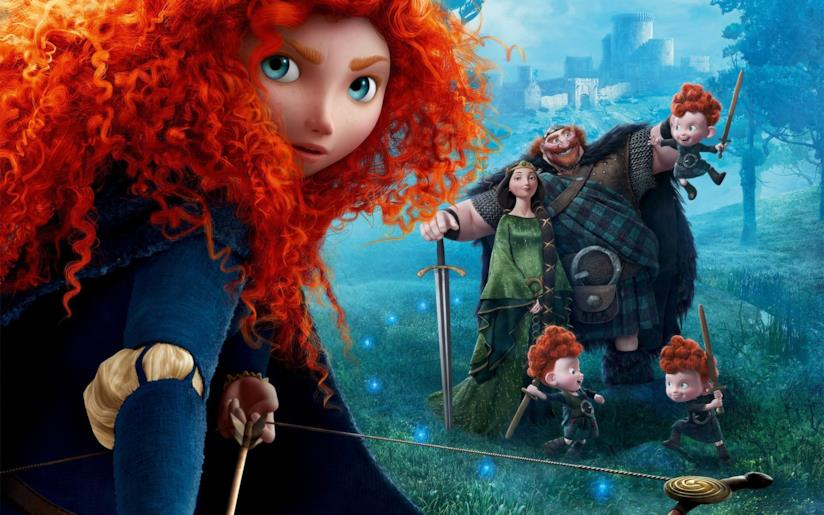 Poster Brave - Ribelle
