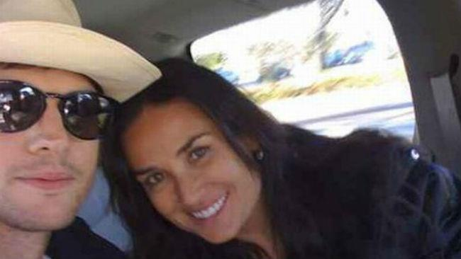 Demi Moore e Ashton Kutcher in una selfie al tempo del loro matrimonio