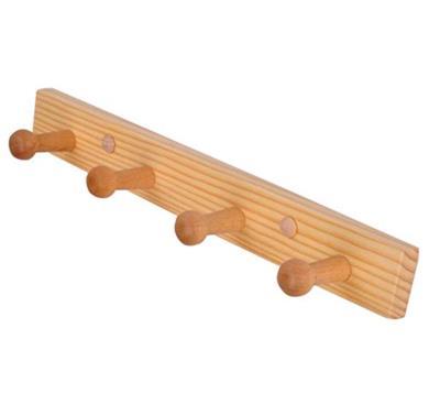 Appendiabiti a parete in legno