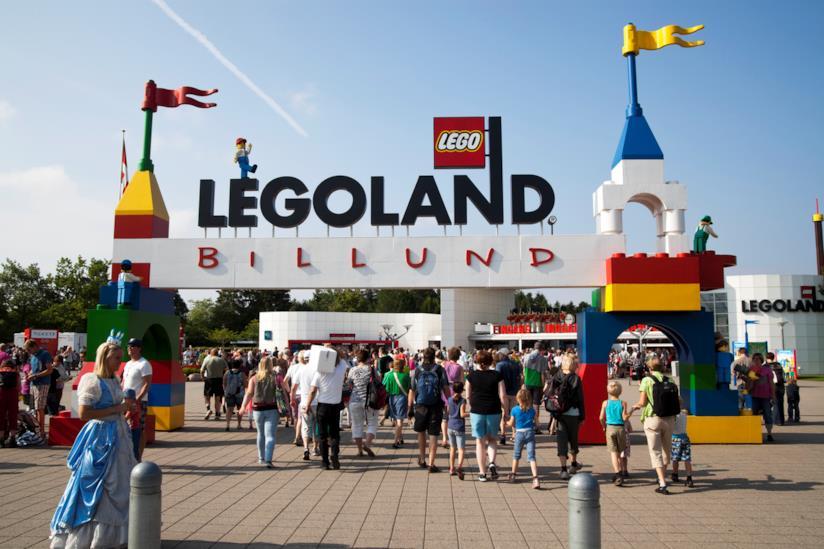 Legoland, il parco divertimenti con attrazioni costruite con mattoncini Lego