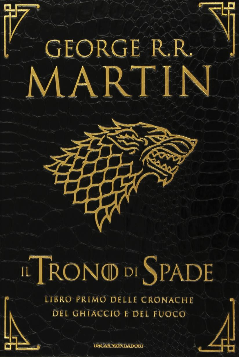 Copertina del libro Il trono di Spade