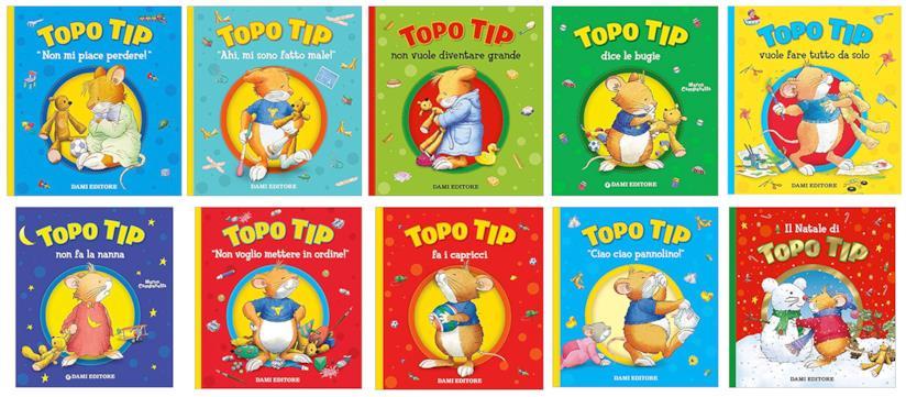 I libri di Topo Tip