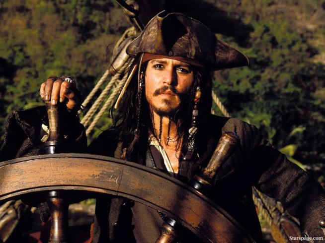 Il pirata Jack Sparrow