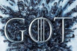 particolare del poster ufficiale per l'Ottava stagione di Game of Thrones