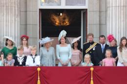 La famiglia reale britannica