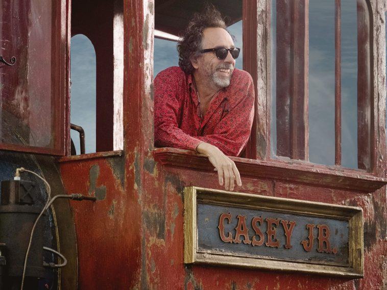 Il regista Tim Burton