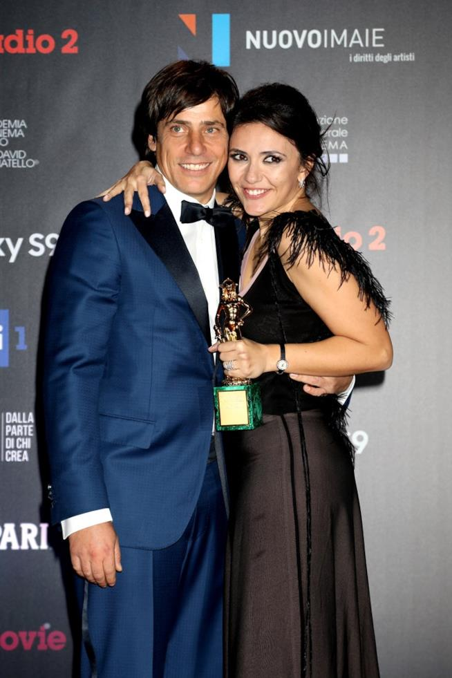 Serena Rossi e il compagno Davide Devenuto