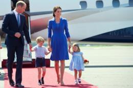 William e Kate con i loro figli