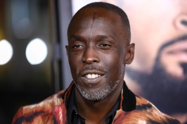 Un ritratto di Michael Kenneth Williams, attore in The Wire