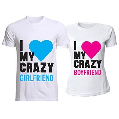 Coppia di T-Shirt per Innamorati Personalizzate