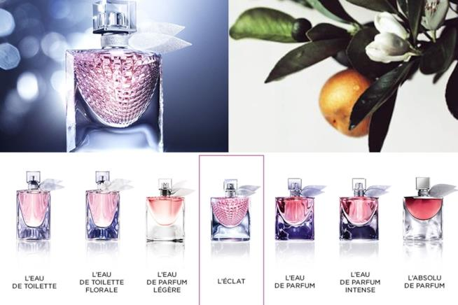 La Vie Est Belle l'Éclat e le altre fragranze La Vie Est Belle di Lancôme