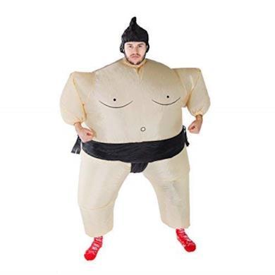 Costume Gonfiabile da Lottatore di Sumo per Adulti