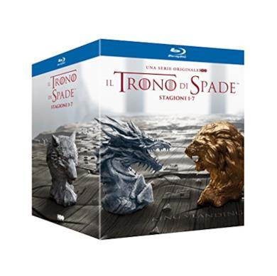 Cofanetto Blu-ray de Il Trono di Spade - Stagioni 1-7