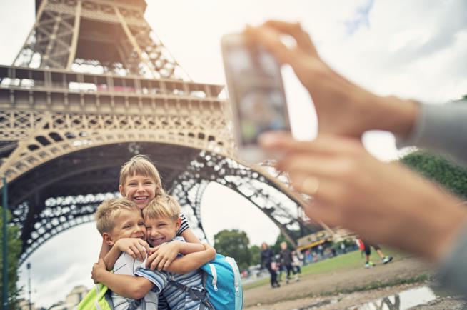 Vacanza a Parigi con tutta la famiglia