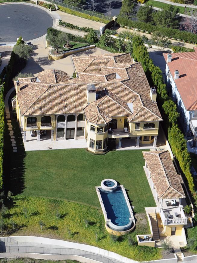 La casa di Kim Kardashian e Kanye West