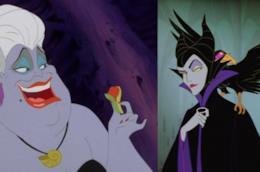 I personaggi Disney Ursula e Malefica