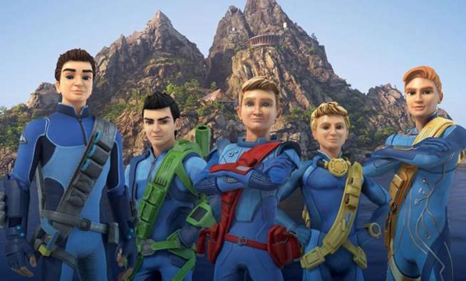 I personaggi di Thunderbirds