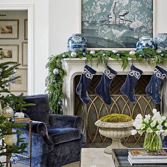 Natale in blu e argento per il 2018