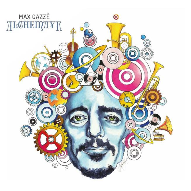 Cover Alchemaya Max Gazzè