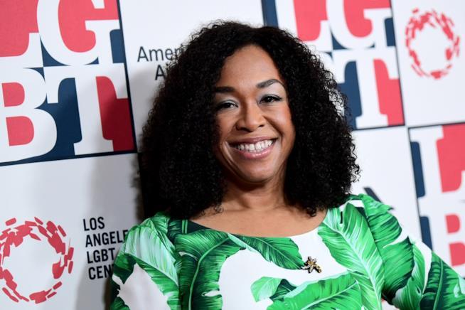 La produttrice e autrice televisiva Shonda Rhimes