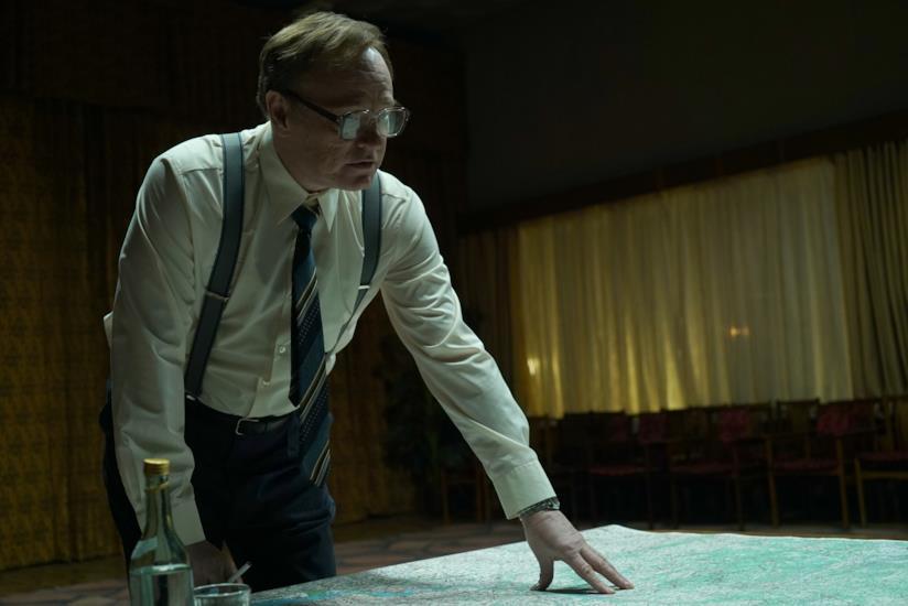 Jared Harris in un scena di Chernobyl