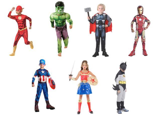 Costumi da supereroi