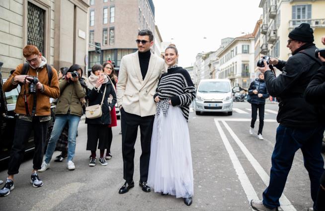 Look alla Milano Fashion Week