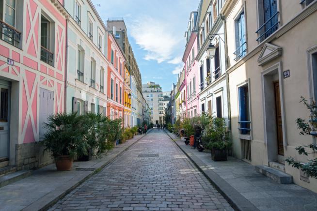 La strada di Parigi Rue Crémieux