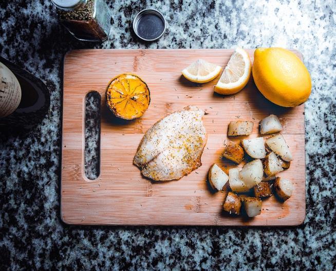 Pesce e limoni