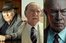 Bernardo Bertolucci e gli attori Kevin Spacey e Christopher Plummer in Tutti i soldi del mondo