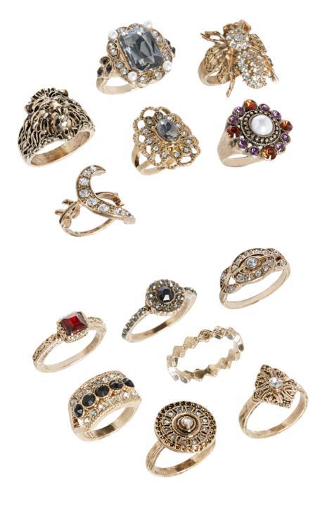 Diversi anelli Primark
