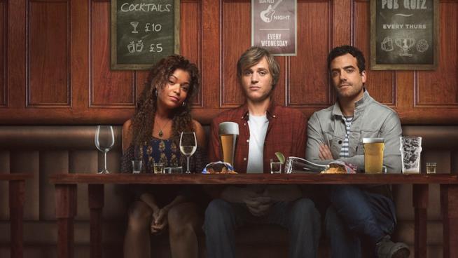I tre amici protagonisti di Lovesick