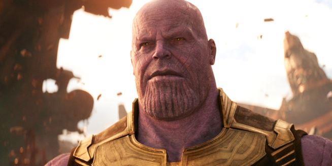 Thanos di Avengers: Infinty War