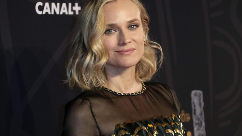 Diane Kruger in primo piano