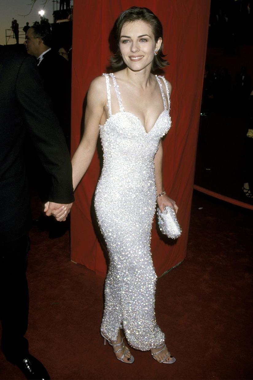 Liz Hurley agli Oscar 1995