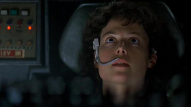 Una immagine dal film Alien di Ridley Scott (1979)