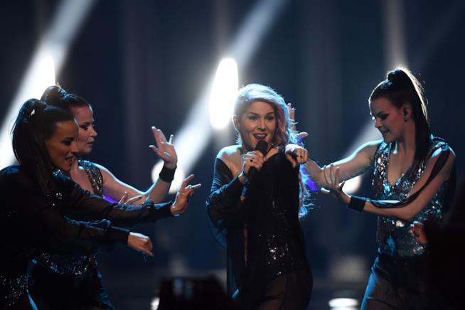 L'esibizione di Lea Sirk all'Eurovision Song Contest 2018