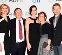 Il cast di The Good Wife con i creatori della serie